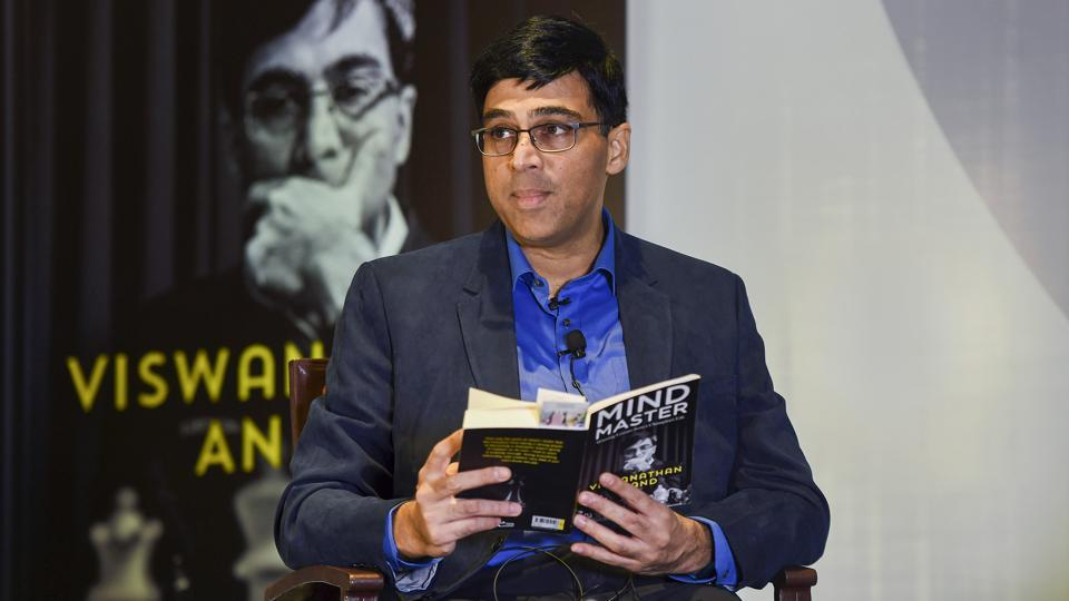 Five- time world champion Viswanathan Anand.