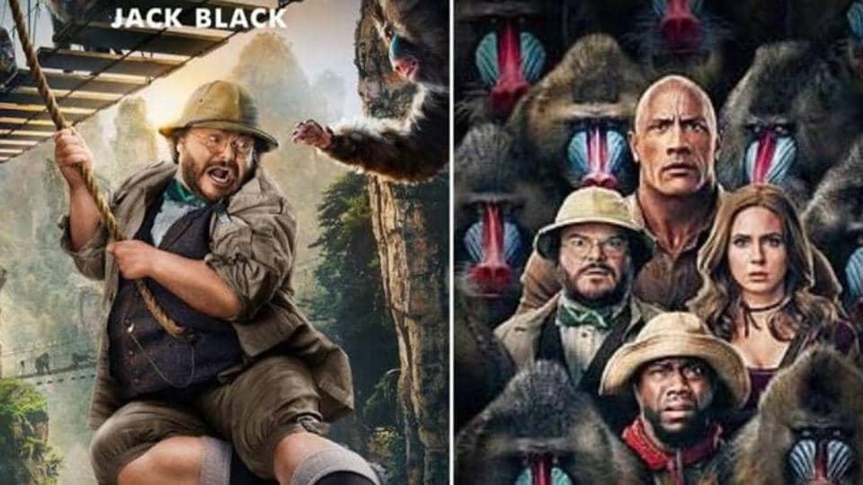 Jack Black in Jumanji:The NextLevel.