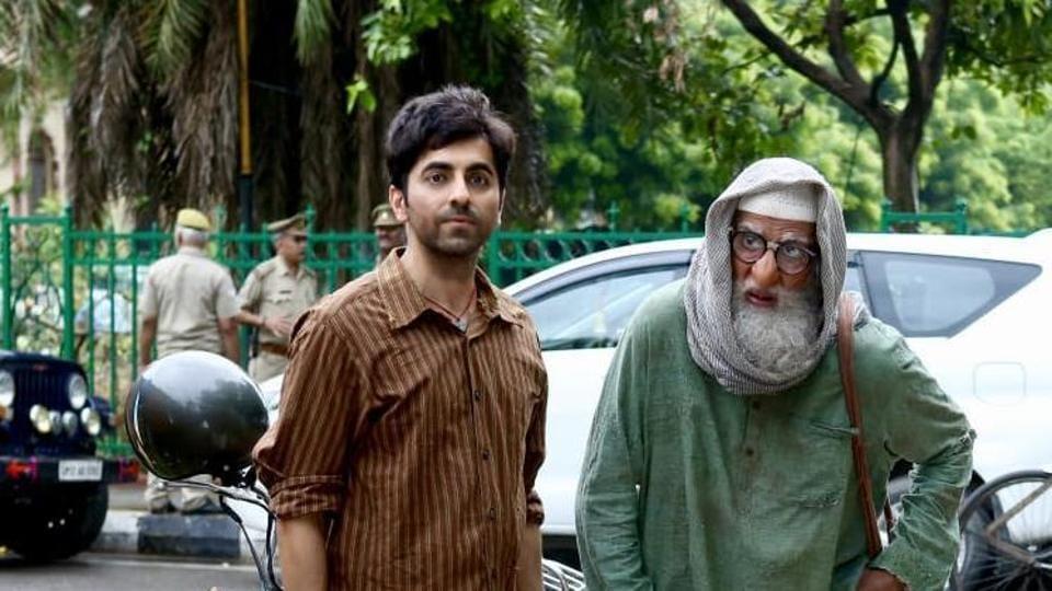 Ayushmann Khurrana and Amitabh Bachchan play lead roles in Gulabo Sitabo.