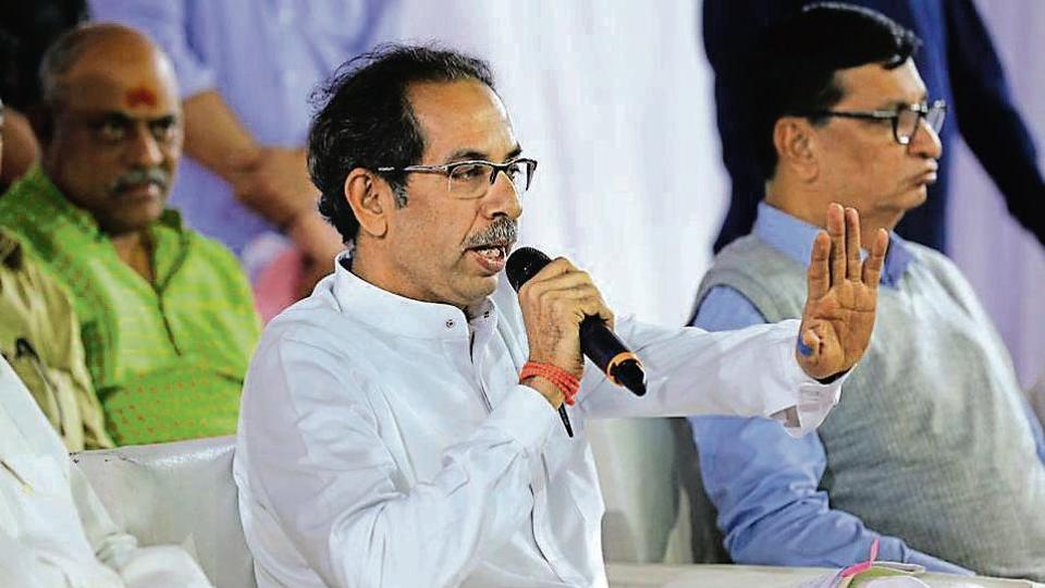 Maharashtra CMUddhav Thackeray addresses a press conference in Nagpur, Sunday, Dec 15, 2019.