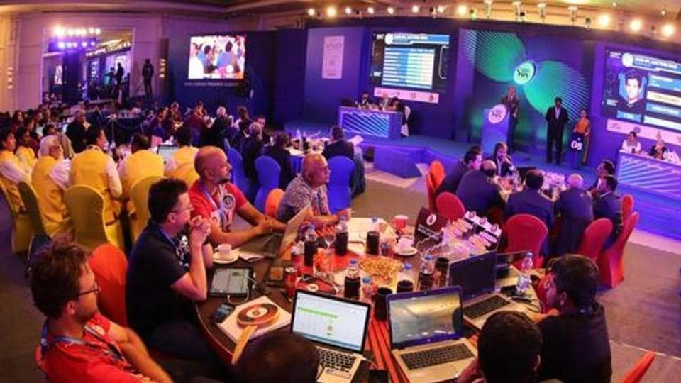 File image of IPL auctions.