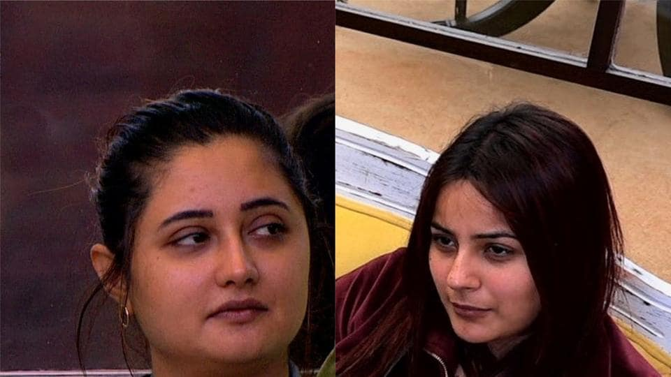 Bigg Boss 13 day 72 written update episode 72 December 17Rashami Desai and Shehnaaz Gill had a bad day inside the house on Tuesday's episode.