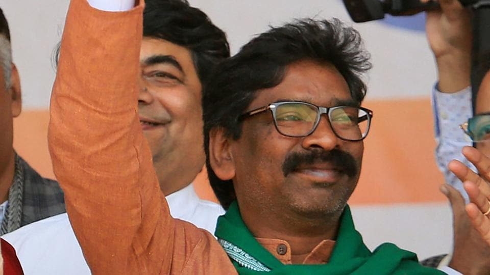 Jharkhand Mukti Morcha (JMM) supremo Hemant Soren 's attack on the BJP came at an election rally in Pakur ahead of the fifth and final phase of polling on December 20.