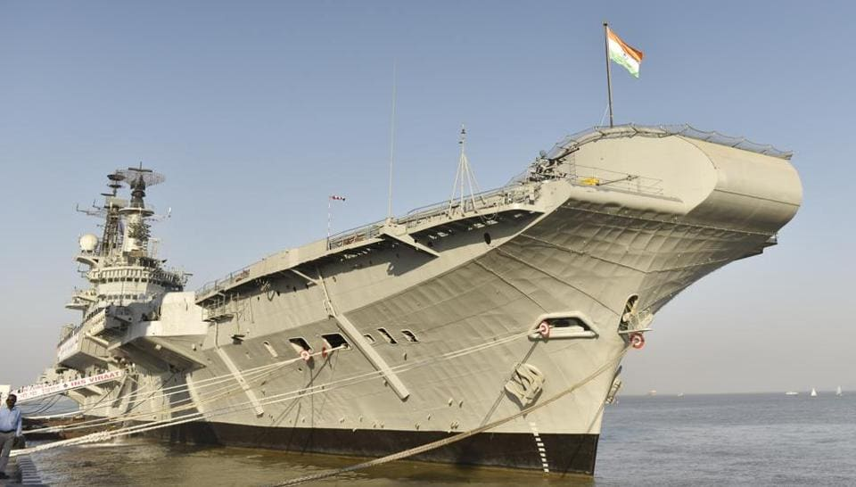 The e-auction of INS Viraat was conducted on Tuesday, between 12pm and 4pm, by MSTC