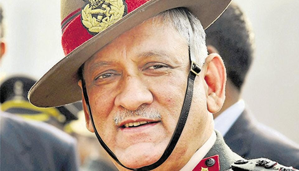 Bipin Rawat's remarks have come against the backdrop of a spike in ceasefire violations by the Pakistan army along the LoC since the Centre's move revoking the special status of J&K on August 5.