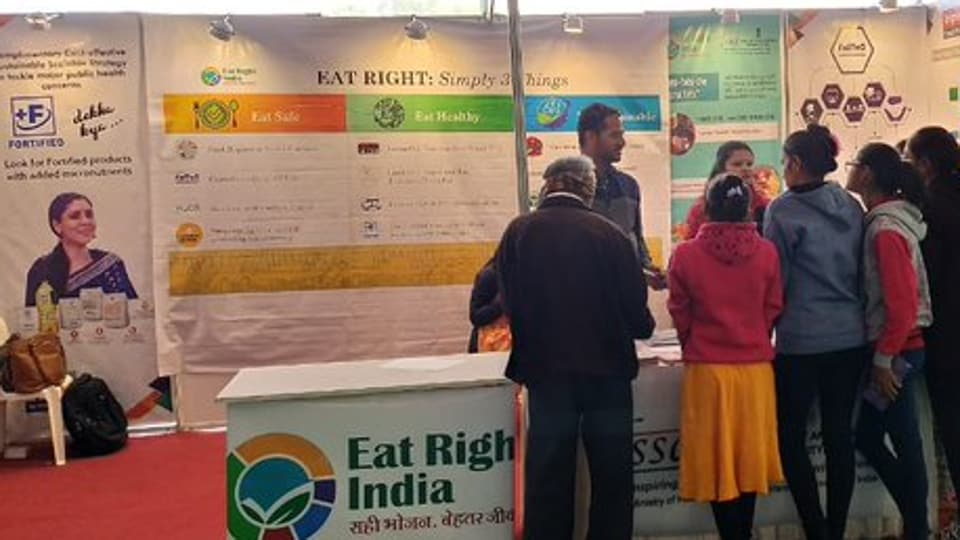 FSSAI will soon start regular monitoring for presence of heavy metals, including lead, arsenic, cadmium and mercury, in soil–food crops.  (Photo @fssaiindia)