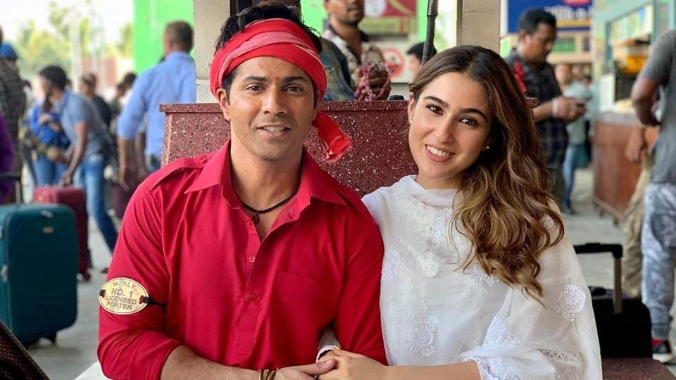 Varun Dhawan and Sara Ali Khan will be seen together for the first time in Coolie No 1.
