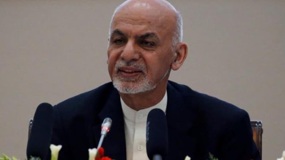 Ashraf Ghani . (Reuters photo)