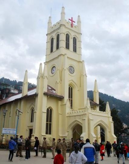 The Christ Church on the Ridge in Shimla  is a landmark monument and enduring legacy of the British Raj. Its bell and chimes, which had been awaiting repair due to lack of funds, have finally been restored and will ring in Christmas this time after 38 years.