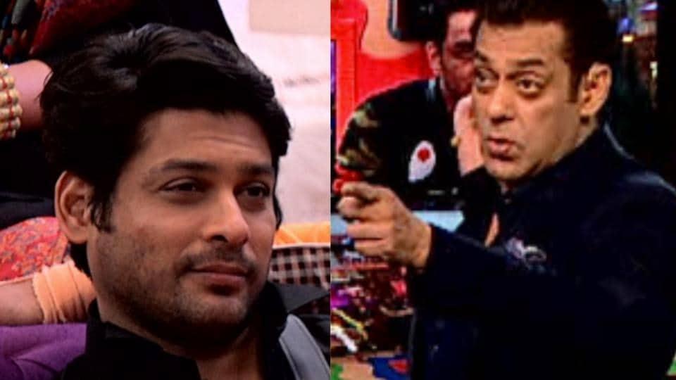 Bigg Boss 13 Salman Khan Scolds Sidharth Shulka But Clip