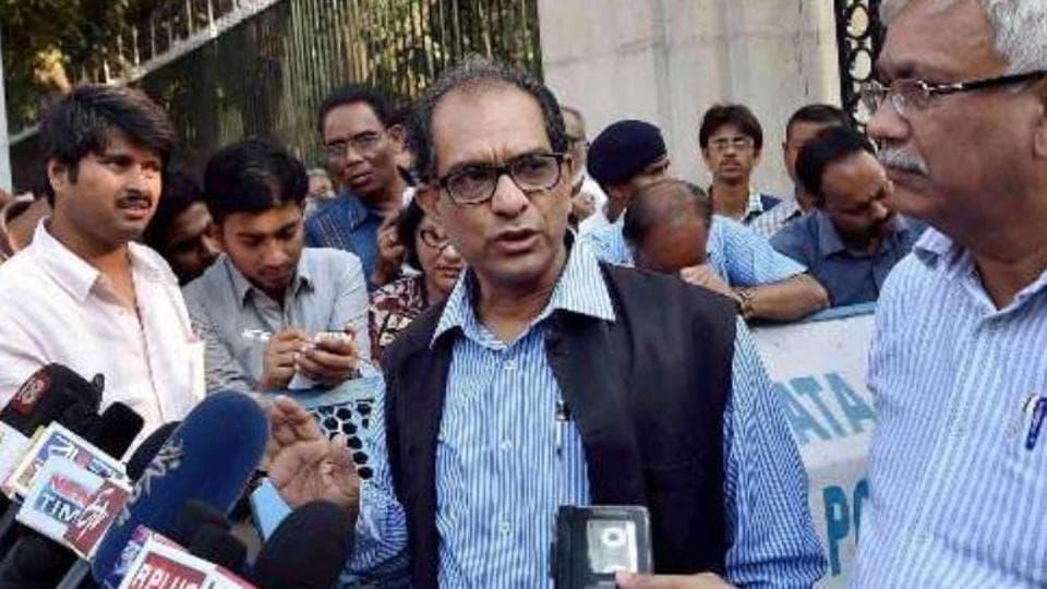 Jadavpur University Vice- Chancellor Prof Suranjan Das.