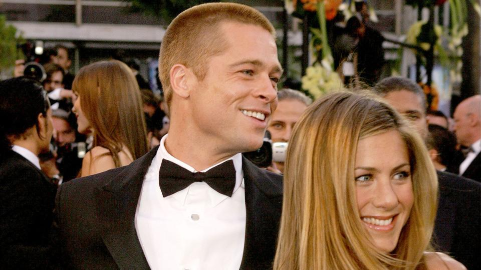 Brad Pitt and Jennifer Aniston were married from 2000 to 2005.