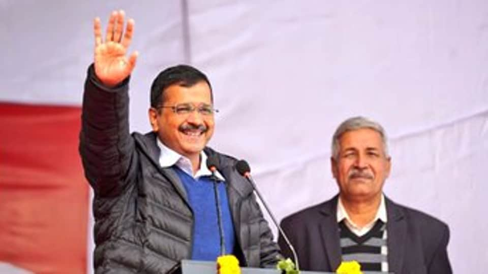 Delhi CMArvind Kejriwal. (Photo @ArvindKejriwal)