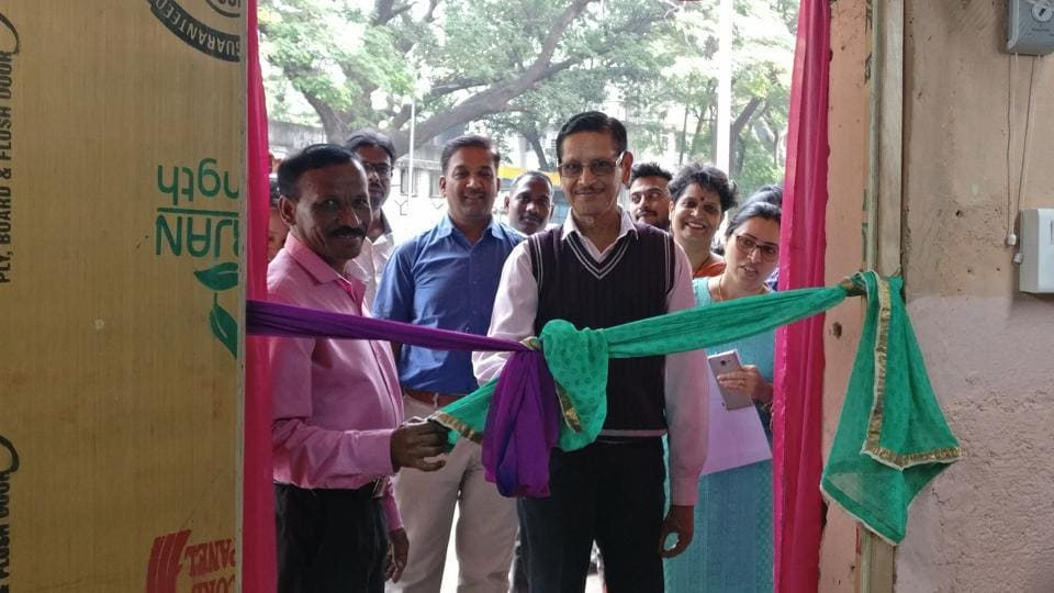 V-collect centre, inaugurated on Tuesday, is situated inside the parking area of Ganesh Kala Krida Manch, Swargate.
