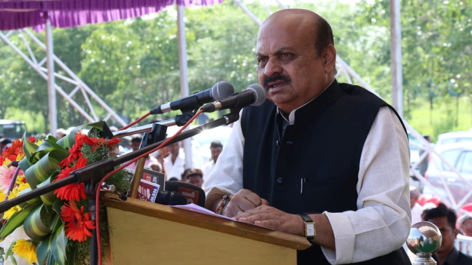 Home Minister Basavaraj Bommai objected to the term 'Detention Centre'.