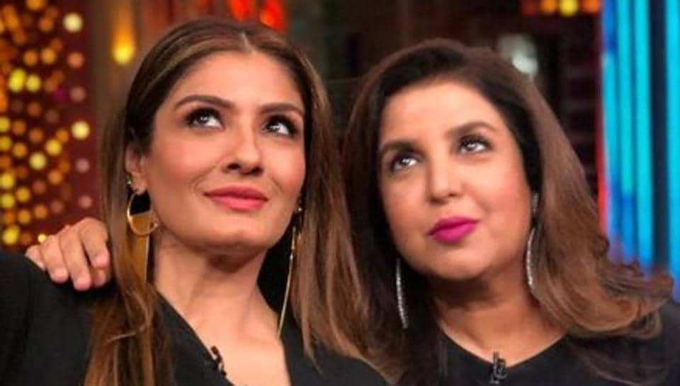 Raveena Tandon and Farah Khan allegedly commented on Jesus Christ on a television show.