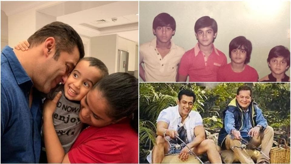 Salman Khan loves his family more than anything.