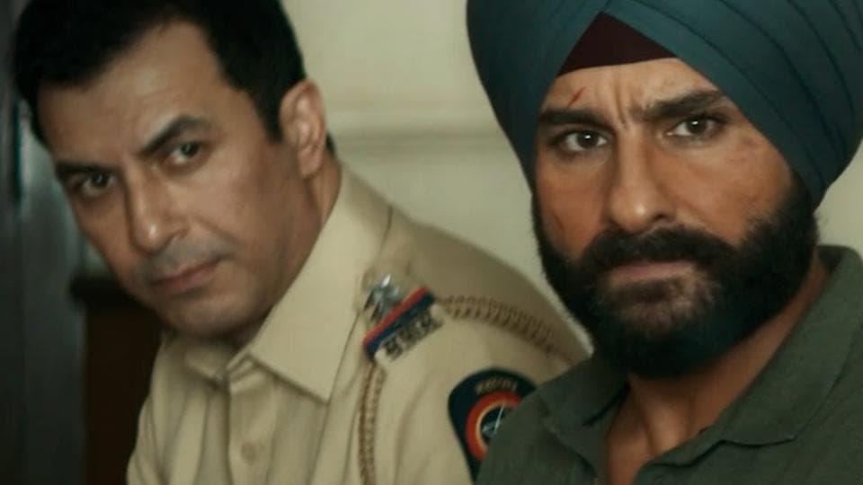 Aamir Bashir and Saif Ali Khan played Majid and Sartaj in Sacred Games, respectively.