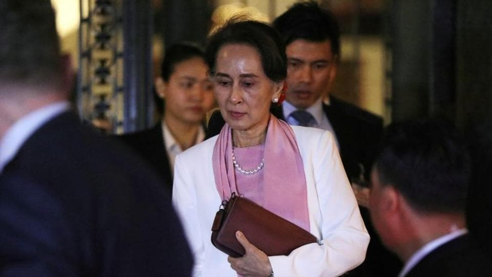 Myanmar's military has hit back hard wherein Suu Kyi said that the army operations were in response to Rohingya militant attacks.