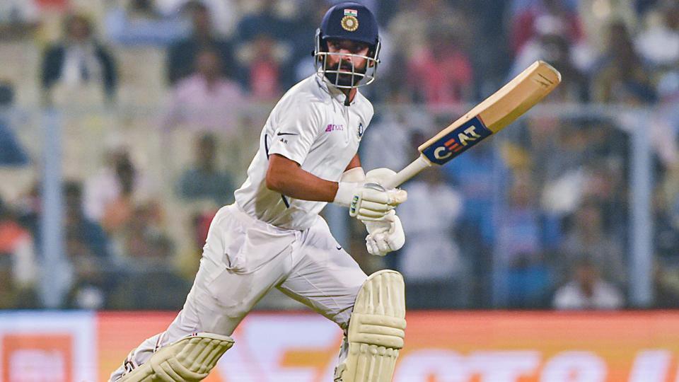 Indian batsman Ajinkya Rahane
