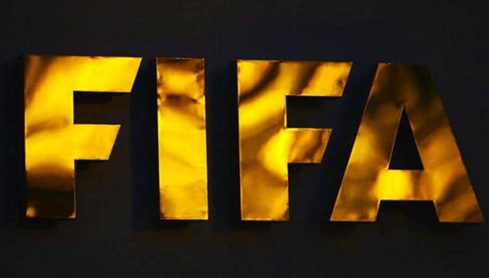 The Fifa logo pictured