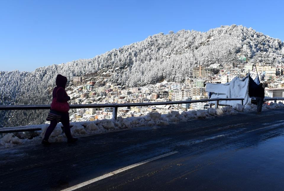 Though Shimla missed snowfall on Christmas, it is likely to have a white New Year's eve.