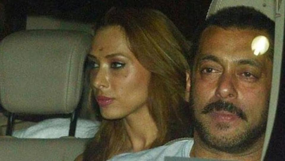 Iulia Vantur attended Salman Khan's birthday party on Thursday night.