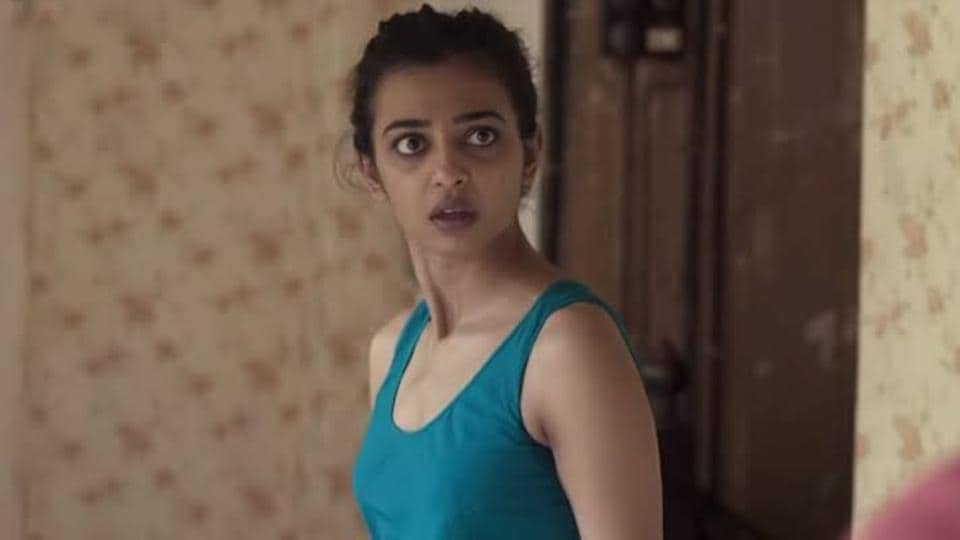 Radhika Apte in a still from Lust Stories.