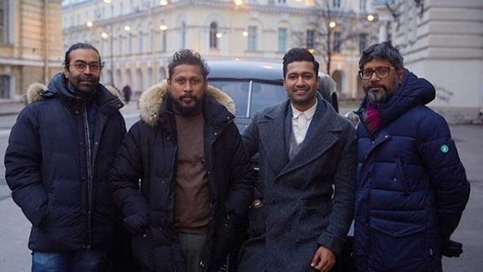 Vicky Kaushal and Shoojit Sircar announced that their film on freedom fight Udham Singh had been wrapped.