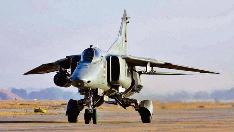 The Indian Air Force's fighter jets MiG-27.will take its last flight on Friday from Jodhpur airbase.