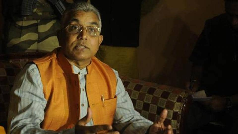 Dilip Ghosh is known for making controversial statements.