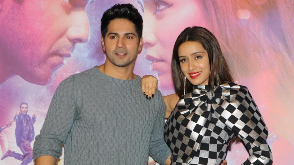 Varun Dhawan and Shraddha Kapoor at the trailer launch of their upcoming film Street Dancer 3D.
