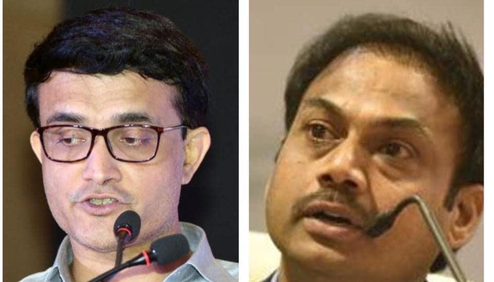 Sourav Ganguly and MSK Prasad