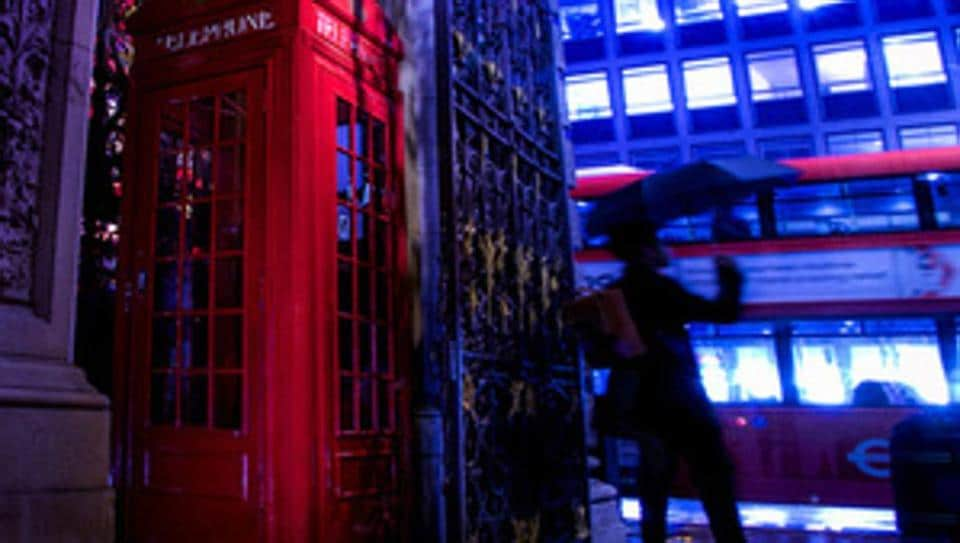 The first red booth in London was built as part of a competition for the iconic design to replace an unpopular structure in 1921.