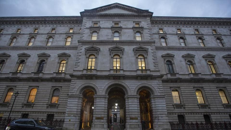 The Foreign and Commonwealth Office in London, U.K