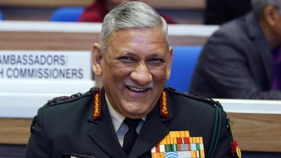 """Gen Rawat asserted that the driving ethos of the Indian armed forces are """"insaniyat""""(humanity) and """"sharafat""""(decency). """"They (Indian armed forces) are extremely secular,"""" he said."""