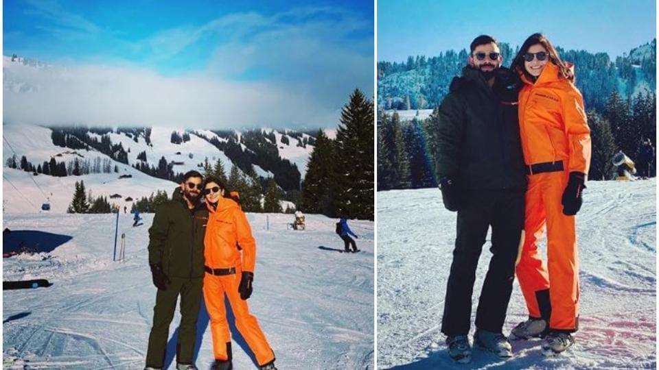 Anushka Sharma and Virat Kohli are on a winter break in Switzerland.