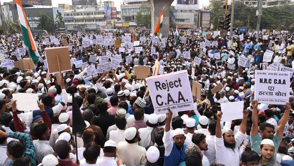 The Pune police have issued a travel advisory for the daily commuters in the wake of protest against recently passed Citizenship Amendment Act in the city, on Sunday.