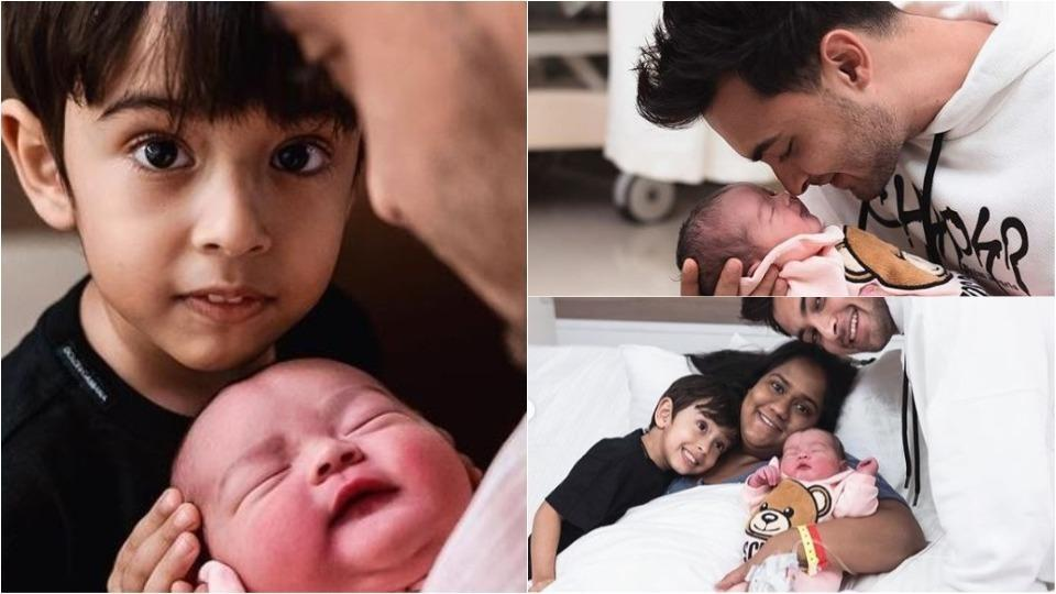 Aayush Sharma and Arpita Khan have welcomed a new member into the family--Ayat.
