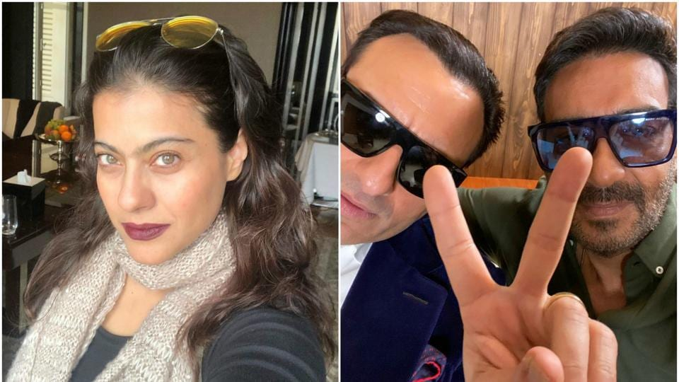 Kajol jokingly tweeted thatSaif Ali Khan 'betrayed' her.