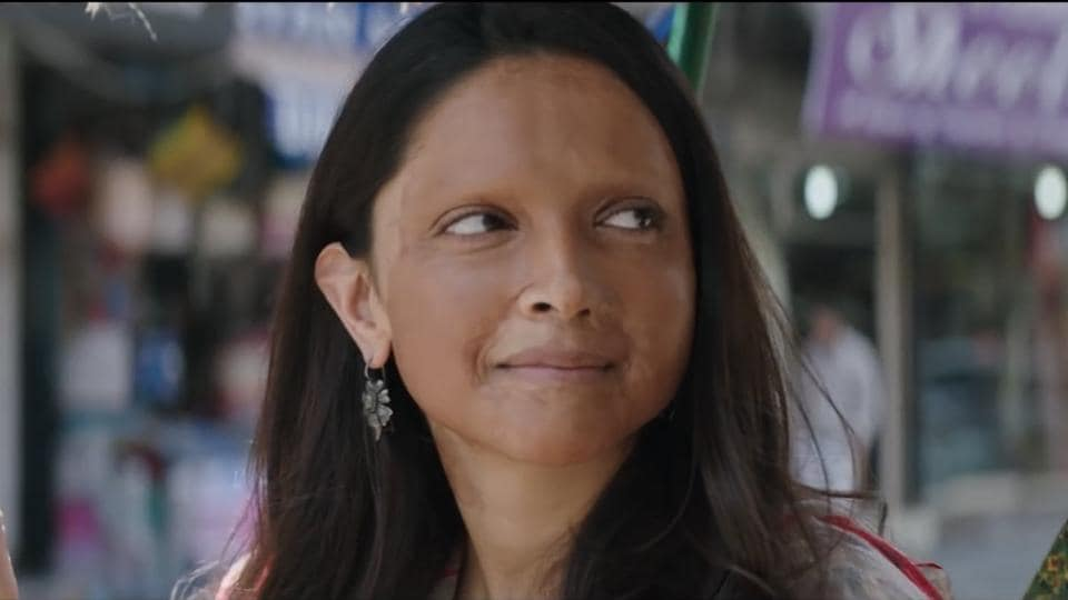 Deepika Padukone plays an acid attack survivor in Chhapaak.