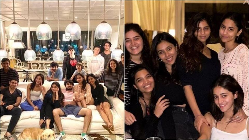 Suhana Khan is going to ring in the New Year with all her friends.
