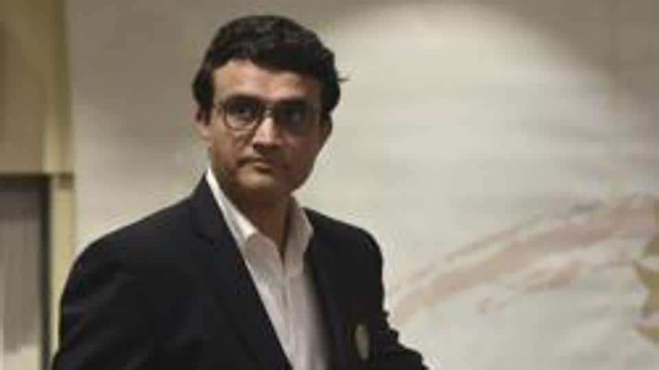 BCCI president Saurav Ganguly