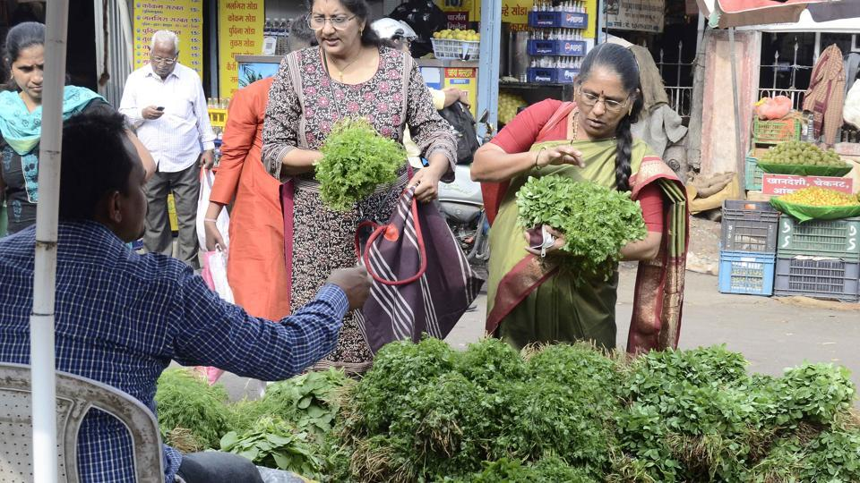 Last week, the prices of green vegetables, especially coriander, had risen considerably, forcing households to forgo the pleasant green garnish from savoury preparations.