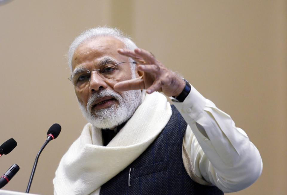 Prime Minister Narendra Modi, New Delhi, 2019