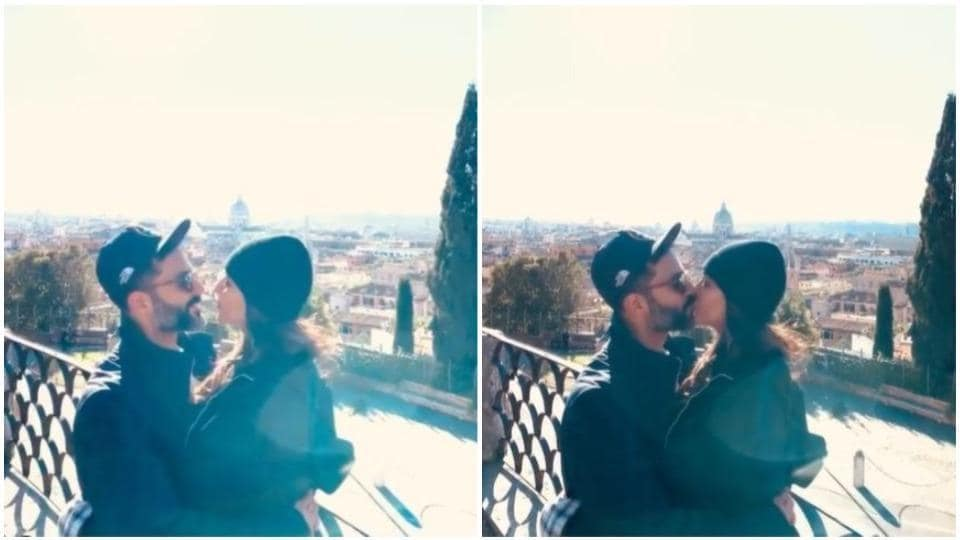 Sonam Kapoor and Anand Ahuja are in Rome.