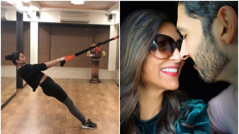 Rohman Shawl left the cutest comment on SushmitaSen's workout video.