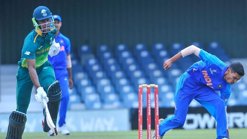 South Africa U 19 beat India by 5 wickets