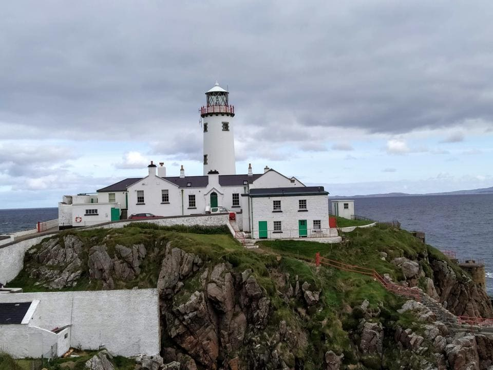 Fanad Lighthouse in County Donegal was built in 1811, after a legendary shipwreck that only the captain's parrot survived.