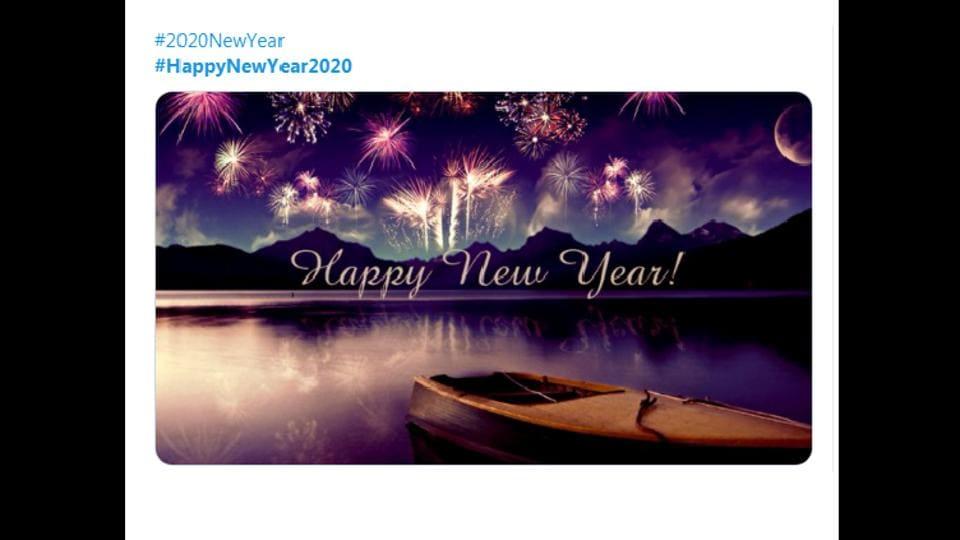 Social buzz: Stars wish fans a Happy New Year